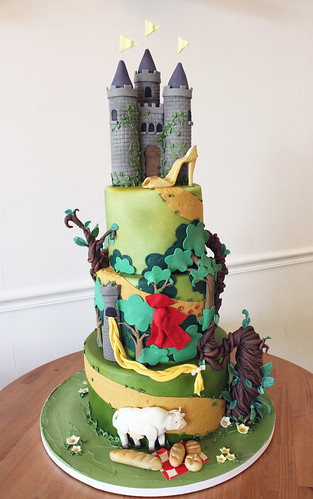 Fairytales Birthday Cake