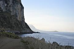 """Area naturale marina protetta Capo Gallo - Isola delle Femmine: """"Fine del sentiero"""" (costagar51) Tags: palermo mondello isoladellefemmine sicilia sicily italia italy mare anticando thebestofmimamorsgroups bellitalia panoramafotográfico theoriginalgoldseal"""