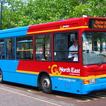 GO NORTH EAST 574 NK53TMZ IS SEEN AT CHESTER LE STREET ON 22 JULY 2005