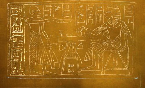 "Senet - Lujoso sistema de objetos lúdicos obsequio del dios Toht a la faraona Nefertari • <a style=""font-size:0.8em;"" href=""http://www.flickr.com/photos/30735181@N00/32369504532/"" target=""_blank"">View on Flickr</a>"