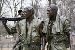 """The Three Soldiers"", Washington, DC (dckellyphoto) Tags: thethreesoldiers thethreeservicemen vietnam washingtondc districtofcolumbia statue sculpture bronze memorial nationalmall army marines marinecorps soldier soldiers frederickhart"
