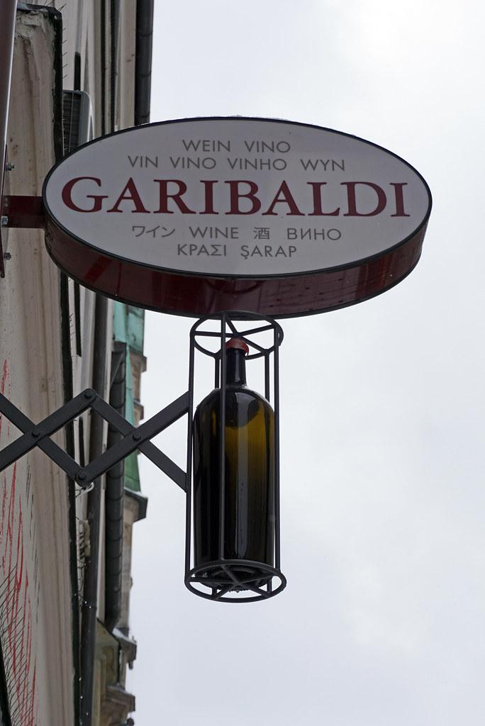 23cfeb0ec97735 Shop sign in Munich (SomePhotosTakenByMe) Tags  sign schild shop store  geschäft laden garibaldi