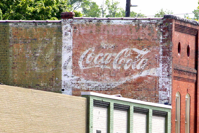 Enjoy Coca-Cola mural - Rome, GA