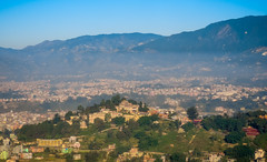 Kathmandu Valley from above (kasiahalka (Kasia Halka)) Tags: asia beautyinnature blue buddhaair cloud geology journey kathmandu landscape mountainrange mountains nature nepal outdoors river road rock scenics sky street tranquilscene travelshrub mounteverest mteverest 8848m sagarmāthā chomolungma 29029 ft