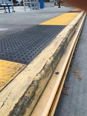 Curb detail with rub rail (SD70MACMAN) Tags: communitytransit swiftbrt busrapidtransit blueline brt