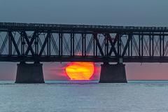 Dear Sun, (MichaelSOwens) Tags: hdr sunrise old bahia honda bridge florida keys ocean sun ball morning