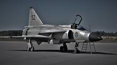 Saab 37. Viggen (Jonas.W.) Tags: aviation samsung airshow saab viggen inspiredbylove nx300