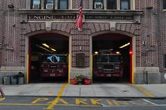 FDNY Engine 229 and Tower Ladder 146 (Triborough) Tags: nyc newyorkcity ny newyork brooklyn engine firetruck williamsburg fireengine ladder fdny seagrave kingscounty towerladder newyorkcityfiredepartment engine229 ladder146 towerladder146