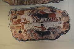 DSC_2909 British Museum London Herding Cattle wall painting from Tomb of Nebamun ca 1350 BC (photographer695) Tags: from ca london wall museum painting bc cattle tomb collection egyptian british the herding 1350 nebamun