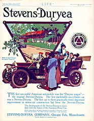 1912 Stevens-Duryea Model AA Seven Passenger Touring (aldenjewell) Tags: car model ad stevens seven cylinder passenger 1912 six touring aa duryea