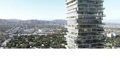 Проект небоскреба Wilshire Tower для Лос-Анджелеса от Platform for Architecture + Research