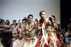 29-108 (ndpa / s. lundeen, archivist) Tags: people motion color men film festival fiji 35mm clothing movement hands dancers dancing stage traditional nick group performance feathers culture suva clothes southpacific 29 tradition 1970s performers 1972 dewolf oceania fijian pacificartsfestival pacificislands youngmen festivalofpacificarts southpacificislands nickdewolf photographbynickdewolf festpac pacificislandculture southpacificfestival reel29 southpacificartsfestival southpacificfestivalofarts fiji72 feathersintheirhair