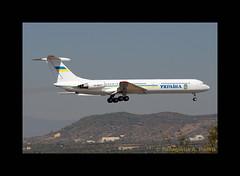 IL-62 UR-86527 LGAV 06/10/2011 (Panagiotis Pietris) Tags: airplane athens ukrainian athensinternationalairport govenment ilyushin il62 80400mmf4556dvr ил62 илью́шин viktoryanukovych
