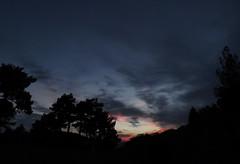Ayvagedii (halilsimsek) Tags: sunset sky clouds turkey dark mersin hmm bulutlar bulut gnbatm ite gk tabikiayva yaylagedigi