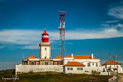 Phare de Cabo da Roca (ousktamitamoto) Tags: sky cloud lighthouse portugal de landscape cabo sintra cap da phare roca lisbonne2015