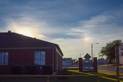 Even Another Sundog (thefisch1) Tags: street city light sky cloud sun sign nikon refraction kansas nikkor topeka sundog cirrus