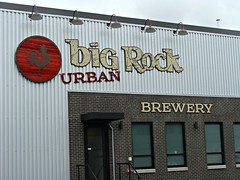 Big Rock Urban (knightbefore_99) Tags: city urban beer sign vancouver real room cerveza ale craft brewery local tasting cambie camra bigrock pivo