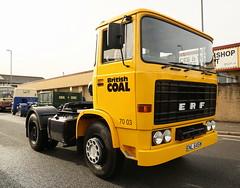 ERF Tractor ENL 645W British Coal Frank Hilton 25102015 030 (Frank Hilton.) Tags: frankhilton25102015 fodenphotoserfphotos aecphotos scammellphotosatkinsonphotos bedfordphotos classictruckphoto sraredennisphotos