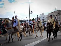 Alger, parade du 1er novembre 2015 (Graffyc Foto) Tags: mer de cheval novembre foto front du parade fujifilm algrie 1er x30 chevaux dfil alger 2015 graffyc