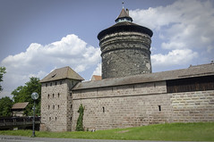 The Towers and City Walls of Old Nuremberg (Greatest Paka Photography) Tags: travel tower history wall germany europe nuremberg worldheritagesite fortification turret watchtower centraleurope