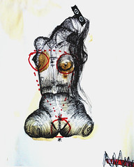 Ese es mi secreto (Rodrigo_d._Toledo) Tags: art sex female nude mujer arte sexo ojos torso dibujo scketch cuerpo ilustracin boceto humana sexualidad figura desnuda lneas temporalidad genitales