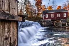 MorningStar Mill (KennyG-String) Tags: autumn bluesky dqfalls morningstarmill niagaraescarpment niagararegion reflections stcatharunes stdavids sun waterfalls