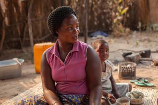 Namakando Mubiana, farmer, Barotse floodplain, Zambia. Photo by Clayton Smith.
