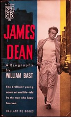 Ballantine 180 Paperback Original (1956). Photo of James Dean on the cover by Roy Schatt (lhboudreau) Tags: book bast coverart dean books paperback actor 1956 biography paperbacks jamesdean bookart ballantine firstedition coverphoto schatt pbo photocover paperbackbook paperbackbooks royschatt vintagepaperback vintagepaperbacks paperbackart ballantinebooks youngactor williambast abiography paperbackoriginal vintagepaperbackart ballantinebook ballantine180 paperbackbiography
