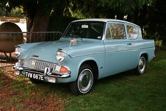 1967 Ford Anglia (davocano) Tags: brooklands 105e autumnclassicbreakfast tvw667e