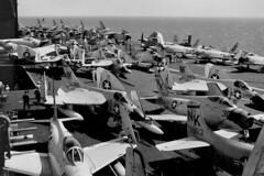 CVG-14 aboard the USS Ranger, CVA-61 (skyhawkpc) Tags: airplane aircraft aviation navy douglas naval usnavy usn 1959 skyray skyraider ussranger cva61 northameican 139165 f4d1 132558 143564 nk507 cvg14 nk206 va146bluediamonds va145swordsmen nk205 vaw11earlyelevens a1had6 vf141ironangels ea1ead5w nk305 139613 134875 af1efj4b detfn vv869