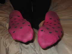 Pink Socks (sockstargirl) Tags: sexy feet socks dirty sweaty smelly footfetish sexyfeet femalefeet sockfetish