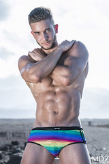 Fabian02 (MDZ male photography) Tags: male muscles grancanaria rainbow model underwear hunk canarias dude gran trunks abs sixpack canaria swimwear maspalomas aesthetics mdz