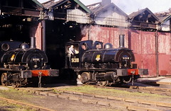 Southport 27C L&Y Finale February 1998 (steamdriver12) Tags: heritage 21 no smoke yorkshire railway class steam lancashire oil 1998 february coal finale southport ly preservation 27c aspinall 51218 040st pug