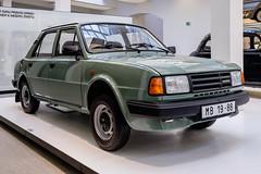 Škoda 125 L type 742 (1989) (The Adventurous Eye) Tags: auto museum type l muzeum 125 742 škoda