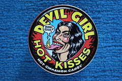 R. Crumb's Devil Girl Hot Kisses (1997) (Donald Deveau) Tags: candy robertcrumb devilgirl
