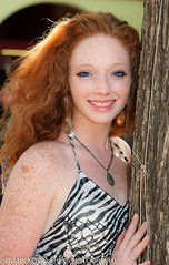 Lovely redhead with a ton of freckles (Alaskan Dude) Tags: costumes people portraits trf renaissance outfits texasrenaissancefestival renaissancefestivals renaissancefairs 2015trf 2015texasrenaissancefestival