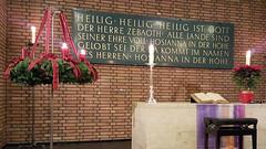 Advent Altar (grinnin1110) Tags: germany de deutschland europe advent adventwreath altar indoors mainz rheinlandpfalz rhinelandpalatinate mnsterstrase altmnsterkirche altmnsterchurch