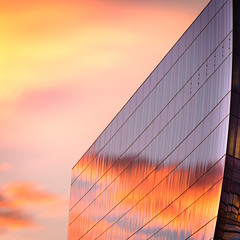 Good Morning Denver (TroyMasonPhotography) Tags: architecture sunrise landscape colorado cityscape denver negativespace 16thstreet kidney leadership dialysis davita troymasonphotographycom