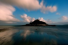 Long gone lonesome blues hw. (plot19) Tags: uk blue england seascape west colour reflection castle english st landscape photography coast cornwall britain sony mount western british michaels cornish rx100 plot19