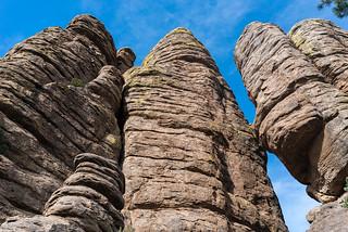 Rhyolite columns