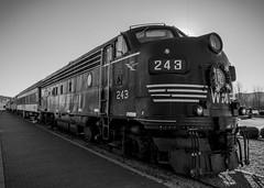 Polar Express (trainmann1) Tags: railroad november windows winter nikon diesel stripes wheels engine rail wm wv westvirginia handheld locomotive headlight nikkor amateur elkins coupler westernmaryland 243 2015 emd 18200mm d90 diesellocomotive scenicrailroad durbinandgreenbriervalleyrailroad emdfp7 wm243 durbinandgreenbrier canadianpacificrailway4071