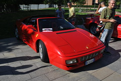 Ferrari Cabriolet (TAPS91) Tags: ferrari solo cuore cabriolet 2° raduno carburatore