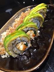Avocado Roll โรลอโวคาโด้ อาหารสุขภาพที่ร้าน WazaSushi สุขุมวิท33