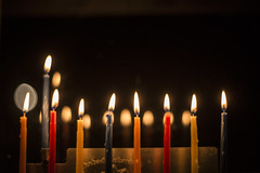 W99A7024 (J. Cahn) Tags: reflection canon fire candles candle bokeh chanukah hanukah flame jewish 5d canon5d canondslr menorah jewishholiday 8thnight eighthnight canon5dmarkiii canon5dmark3
