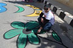 DSC_0149 (Al Ahliyya Amman University) Tags: street flowers students colors painting colorful university pretty time weekend president amman happiness jo jordan characters aau joyful       ccbysa  ahliyya          balqa      alsaro