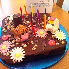 Moomin Cake (Chris & Angela Pye) Tags: birthday food cake candles moomins snorkmaiden theancestor