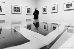 New York (ale neri) Tags: street bw aleneri moma nyc ny newyork reflection museum photography streetphotography blackandwhite alessandroneri
