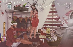 Lets get ready for Xmas. (Katy Hastings) Tags: amareikids anlarposes beusy ccd chicchica chimia cmyk cosmicdust cosmopolitan doux drd gacha giannifair gift jfdesign kalback killis lewd mi mutresse persefona tapi tkw toddle tsg wintersolstice yourdreams