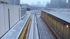 013strcrp (citatus) Tags: ttc subway sation davisville snow winter evening 2010 toronto canada sony dsch2