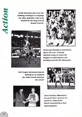 Hibernian vs Clydebank - 1989 - Page 10 (The Sky Strikers) Tags: hibernian hibs clydebank skol cup road to hampden easter matchday magazine one pound